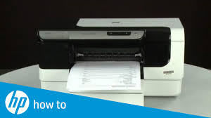 Hp Printer Light Keeps Blinking Printing A Test Page Hp Officejet Pro 8000 Printer A809a
