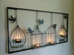 18 36inch wrought iron wall hanging