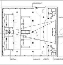 Home Theater Room Floor Plans Unique Home Theater Design Plans