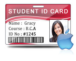Design Mac Id Maker Excel Student Students For On File Cards Using Data