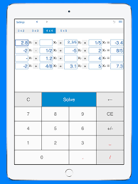 system solver and calculator for solving systems of linear equations by intemodino group s r o ios united kingdom searchman app data information