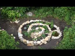 this is how you build a herb spiral