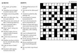 It can also be handy for solvers. British Style Crossword Puzzlenation Com Blog