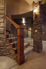 Stair Repair Basement Stairs Basement Stair Ideas Concrete - Unfinished basement stairs