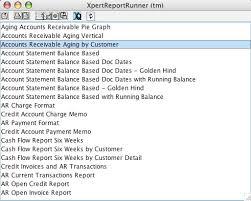 Account Receivable Aging Report Xpertmart Users Manual Accounts Receivable Module