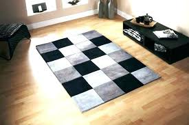 black rug 8x10 black rug image of checkerboard rugs and white solid area striped outdoor lo