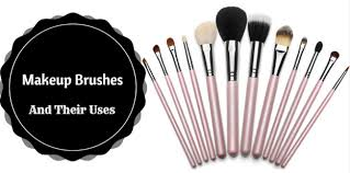 diffe makeup brushes
