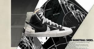 Sacai X Nike Blazer Mid Black Wolf Grey Release Date Nike