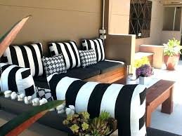 striped outdoor pillows black and white striped outdoor cushions glam patio black white striped outdoor cushions striped outdoor pillows