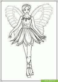 TOP tranh tô màu công chúa barbie quá đẹp - Jadiny