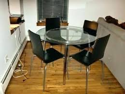 glass round dining table ikea glass top table dining featured image of round glass top dining glass round dining table ikea