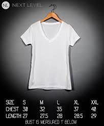 Next Level T Shirts Size Chart Toffee Art