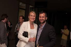 Interior designer Chandos Dodson Epley with Fixture and Fitting's founder  and president, Aaron Laine | Fittings, Design, Media coverage