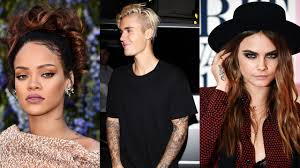 The Artists Behind Rihannas Cara Delevingnes And Justin Biebers