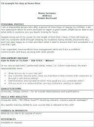 Homemaker Resume Sample Enchanting Homemaker Resume Example Homemaker Resume Samples Examples Skills