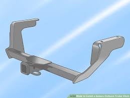 how to install a subaru outback trailer hitch 13 steps image titled install a subaru outback trailer hitch step 1