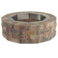 round concrete fire pit kit no 2
