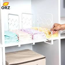 diy shelf dividers shelf dividers for clothes thicken closet shelf dividers clothes organizer wardrobe cupboard partition