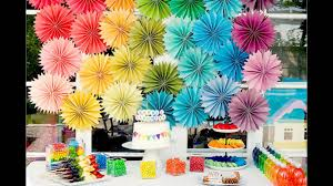 birthday party theme decorations at home ideas for kids youtube