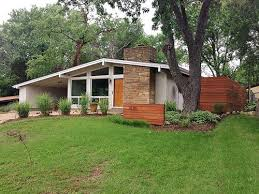 Mid Century Modern Ranch Renovation. Current owners re-installed the  clerestory windows that were