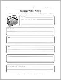 Free Newspaper Article Template For Students Newspaper Article Template Writing Grammar Newspaper Article