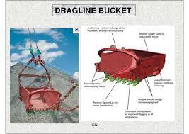 working of dragline dragline bucket isn