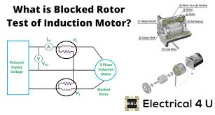 blocked rotor test of induction motor