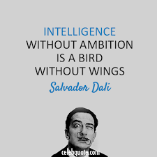 Salvador Dali Quotes New Salvador Dali Quote About Wings Intelligence Bird CQ