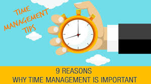why is time management important