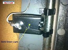 garage door sensor lights garage door sensor yellow light garage door sensor one garage door sensor