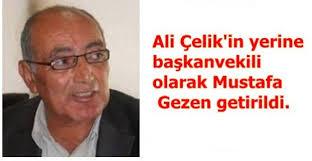 Ali Çelik\u0026#39;in yerine başkanvekili olarak Mustafa Gezen getirildi. - ali_celikin_yerine_baskanvekili_olarak_mustafa_gezen_getirildi_h3165