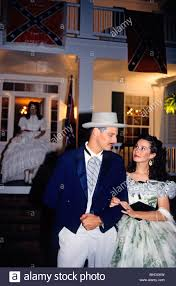 Look-alikes of Scarlett and Rhett butler at the Tara Ball which Stock Photo  - Alamy