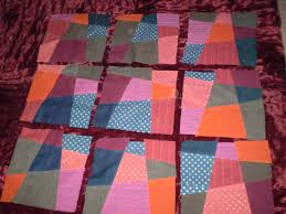 the 'oops' crazy nine patch quilt | Shruti's - an 'up'cycle shop & and ... Adamdwight.com