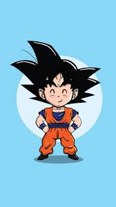 Probably one of the most famous animes of all time, dragon ball z is the sequel to the original dragon ball anime. Dragonball Z Son Goko Chibi Digital Wallpaper Dragon Ball Z Wallpaper For You Hd Wallpaper For Desktop Mobile