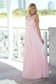 Light Pink Lace Maxi Dress Blush Lace Maxi Dress Pink Bridesmaid Dresses Blush Pink