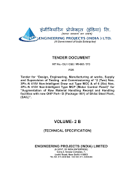 Scope Of B Design In India Volume 2 B Engineering Projects India Ltd