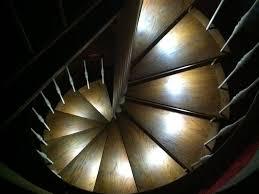 staircase lighting ideas. Custom LED Spiral Staircase Lighting Ideas
