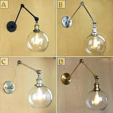 articulating wall lamp double swing arm wall lamp wall light sconces brace lamp shades retro double articulating wall lamp