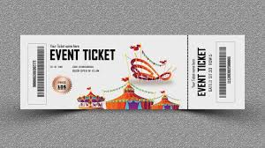 Ticket Design Event Ticket Design Photoshop Tutorial Ticket Design