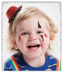 Girl Clown Face Designs 10 Easy Face Painting Ideas Clown Face Paint Face