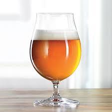 spiegelau beer classics stemmed tulip glasses set of 2