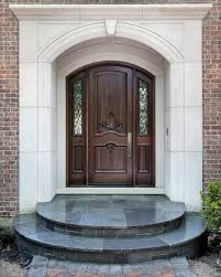 white single front doors. Beautiful Design In Your Inspiration Ideas With Amazing Front Doors : Fancy White Cornice And Dark Single U