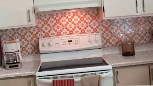 Stick On Backsplash For Kitchen Backsplash Ideas Lucys Epiphany Kitchen Makeover With Peel And