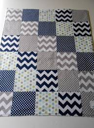 48 best Baby images on Pinterest | Nursery ideas, Nurseries and ... & Minky Baby Boy Patchwork Quilt Blanket.. Replace the navy with aqua and I' Adamdwight.com