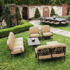 here s a review of cast aluminum extruded aluminum patio furniture
