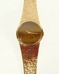 ladys 9ct gold cased bueche girod wrist watch mechanical movement lot 1 ladys 9ct gold cased bueche girod wrist watch mechanical movement tigers
