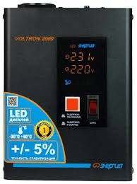Отзывы <b>Энергия Voltron 2000</b> (HP) | <b>Стабилизаторы</b> напряжения ...