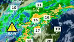 Flood alert warning as Storm Bronagh sweeps across the country