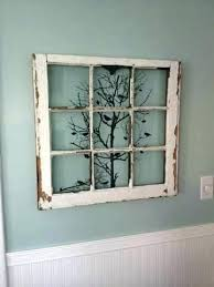 wood window frame decor vintage frames simple best old wooden crafts