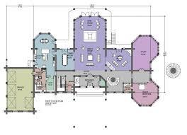 hawkeye 15281 sq ft luxury log home plans cabin kit house mountainside hawkeyefloor home plans mountain